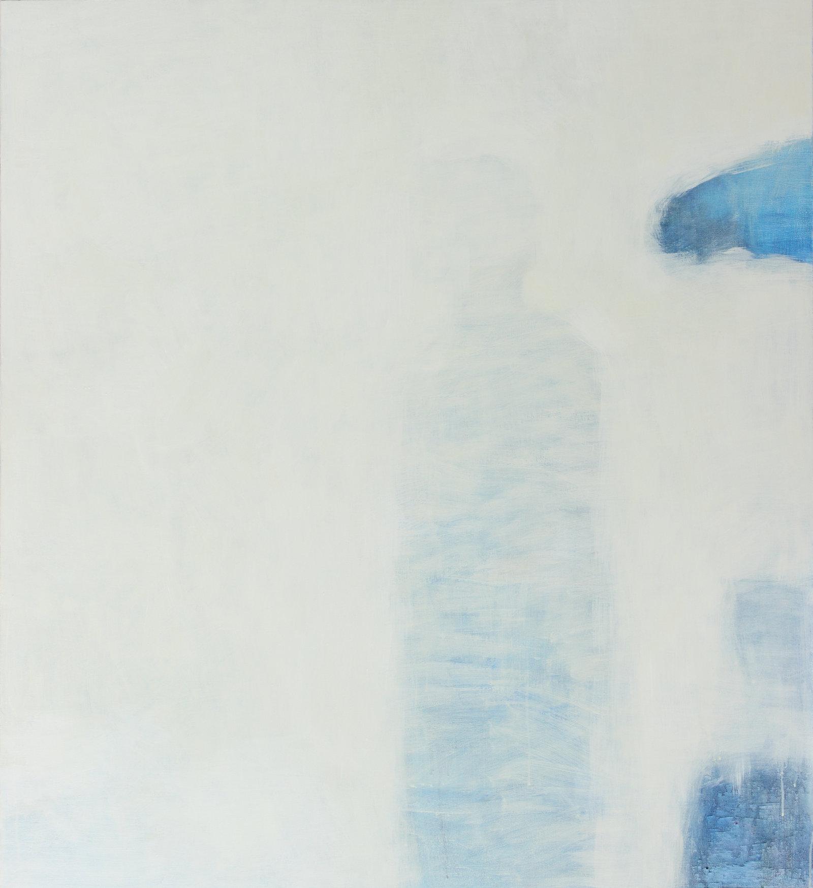 Kyllä niitä päiviä vielä tulee, 2014, tempera, 110 x 100 cm