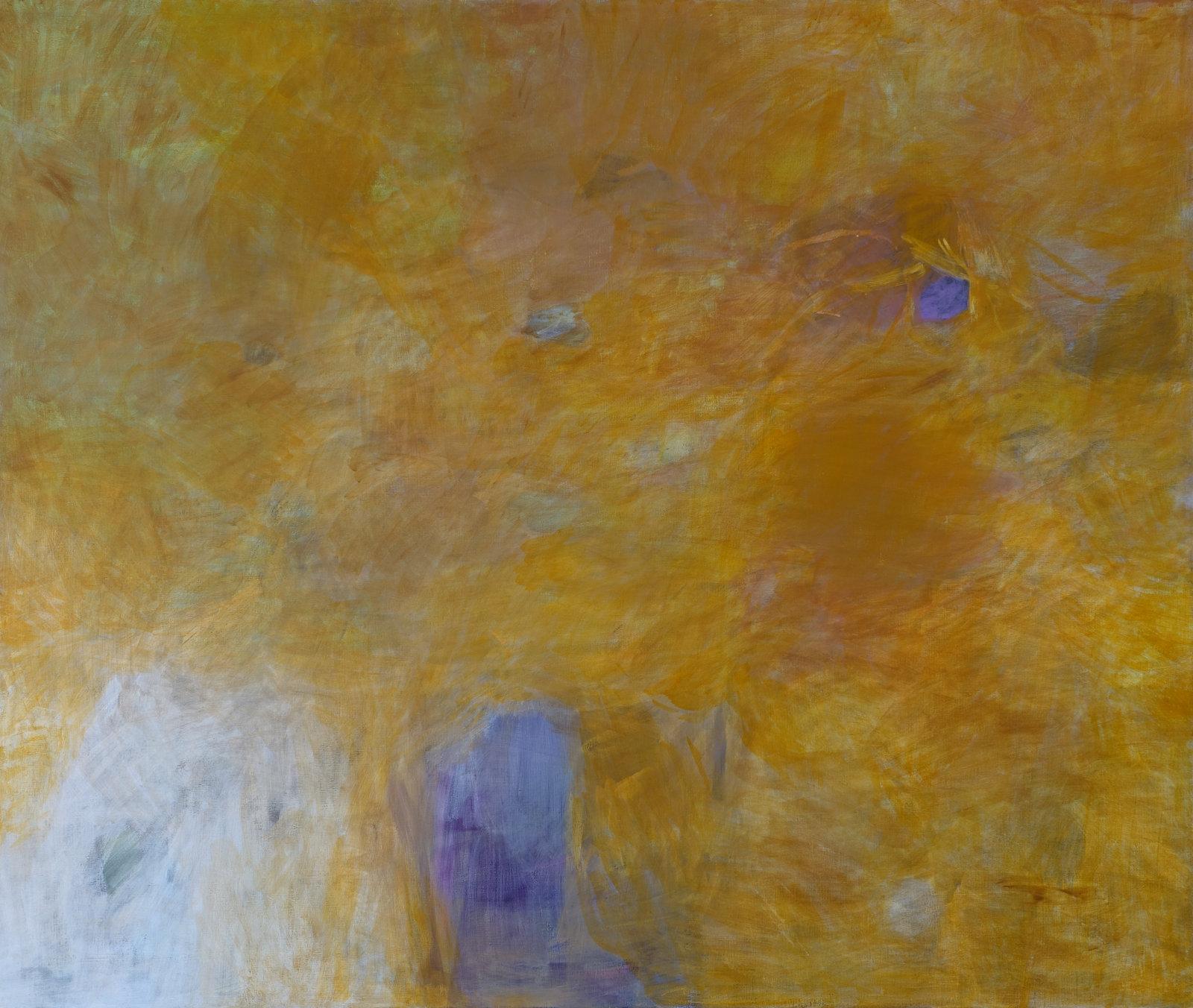 Uoma, 2018, tempera, 100 x 110 cm