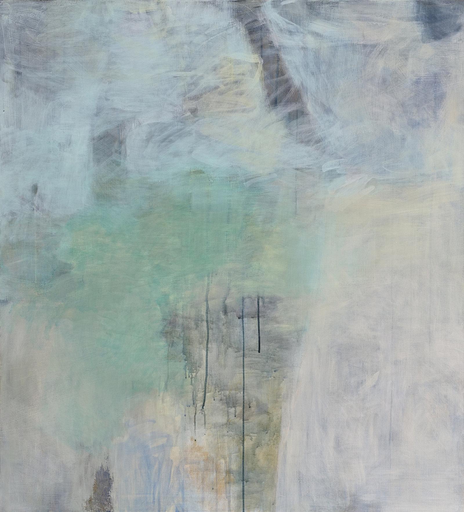 Vuoto, 2016, tempera, 110 x 100 cm